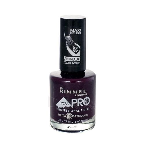 Nagų lakas Rimmel London Lycra Pro Professional Finish Cosmetic 12ml Nr. 410 Trend Spotting Paveikslėlis 1 iš 1 310820013158