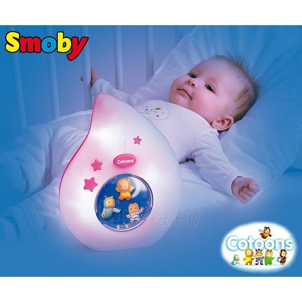 Naktinė lemputė   rožinė   Smoby Paveikslėlis 2 iš 2 30024800236