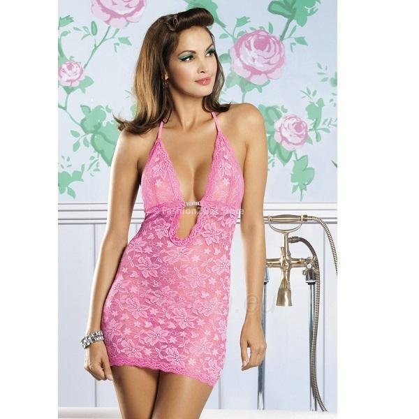 Naktiniai Briliantinė Mergaitė (rožiniai) S/M Paveikslėlis 1 iš 3 310820006295