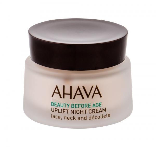 Naktinis odos kremas AHAVA Beauty Before Age Uplift Night Skin Cream 50ml Paveikslėlis 1 iš 1 310820185406