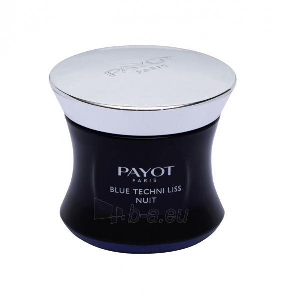 Naktinis odos kremas PAYOT Blue Techni Liss Nuit Night Skin Cream 50ml Paveikslėlis 1 iš 1 310820185394