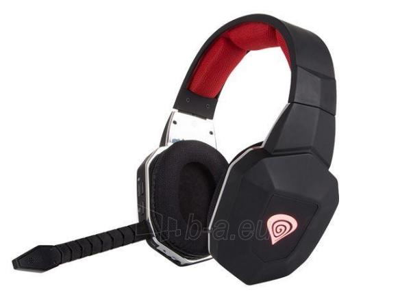 Natec Gaming Wireless Headset GENESIS HV59 + Microphone, 2.4GHz Paveikslėlis 1 iš 5 310820001808