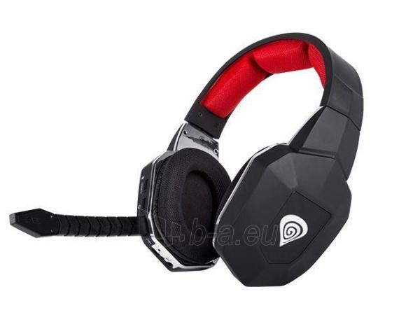 Natec Gaming Wireless Headset GENESIS HV59 + Microphone, 2.4GHz Paveikslėlis 2 iš 5 310820001808
