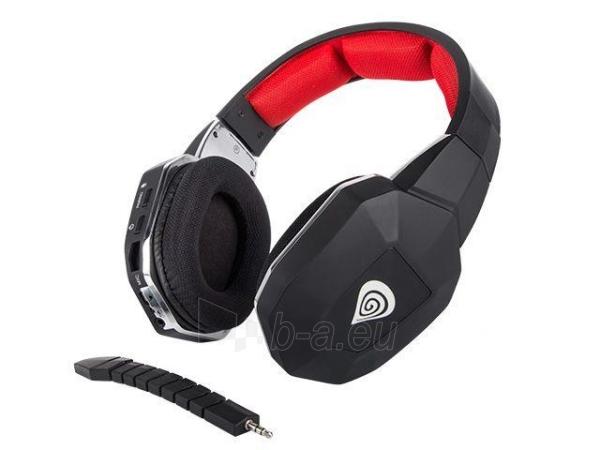 Natec Gaming Wireless Headset GENESIS HV59 + Microphone, 2.4GHz Paveikslėlis 4 iš 5 310820001808