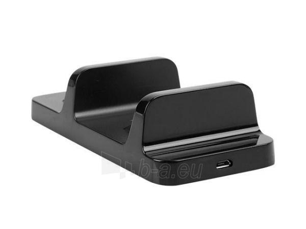Natec Genesis PS4 Gamepad paidimų pultelių krovimo stotis A22 (charging 2 gamepads at once) Paveikslėlis 3 iš 5 310820044345