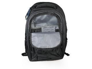 Natec notebook backpack CAMEL 2 Black 15,6 Paveikslėlis 5 iš 6 250256202910