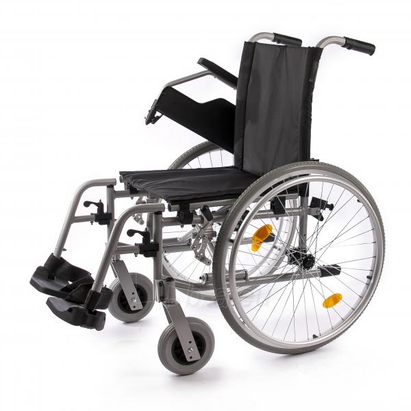 Neįgaliojo vežimėlis LightMan Start 04-030-2, 39 cm Paveikslėlis 2 iš 9 310820146284