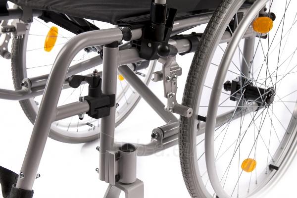 Neįgaliojo vežimėlis LightMan Start 04-030-2, 39 cm Paveikslėlis 5 iš 9 310820146284