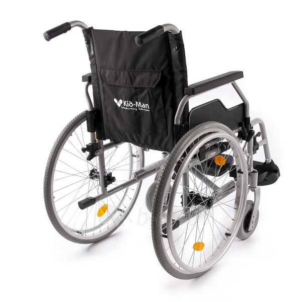 Neįgaliojo vežimėlis LightMan Start 04-030-2, 39 cm Paveikslėlis 6 iš 9 310820146284