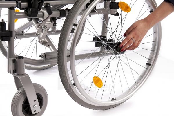 Neįgaliojo vežimėlis LightMan Start 04-030-2, 39 cm Paveikslėlis 8 iš 9 310820146284