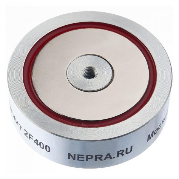 Neodimio paieškos magnetas (dvipusis) Nepra 800kg 2F400 Paveikslėlis 5 iš 5 310820171233