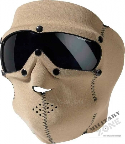 Neopreninė kaukė su akiniais, Coyote Paveikslėlis 1 iš 1 251510700181