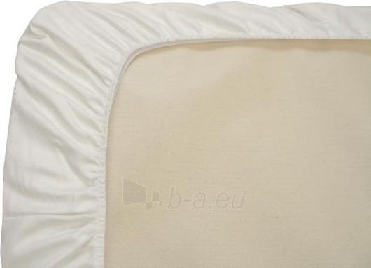 Neperšlampama paklodė su guma - 80x160x15 cm Paveikslėlis 1 iš 1 30115600059