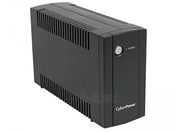 Nepertraukiamo maitinimo šaltinis Cyber Power UPS UT650E 360W (Schuko) Paveikslėlis 1 iš 2 310820050131