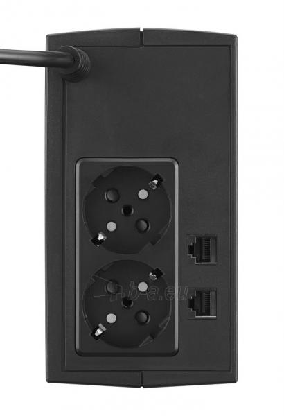Nepertraukiamo maitinimo šaltinis Cyber Power UPS UT650E 360W (Schuko) Paveikslėlis 2 iš 2 310820050131
