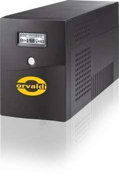 ORVALDI 650 LCD W/USB (4 OUTLETS IEC320) Paveikslėlis 1 iš 1 250254300233