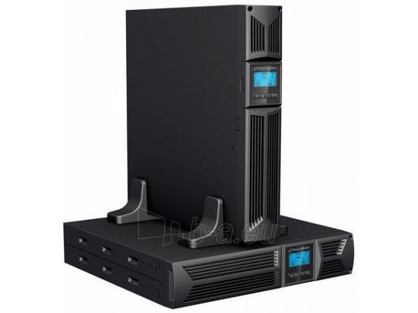 Power Walker UPS Line-Interactive 1000VA, 19 2U, 4x IEC, RJ11/RJ45, USB, LCD Paveikslėlis 5 iš 5 250254301121