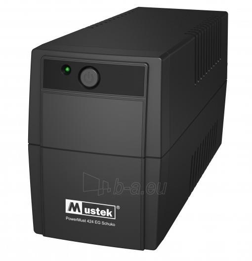 PowerMust 424EG (450VA), Line Int., Schuko Paveikslėlis 1 iš 1 250254301351