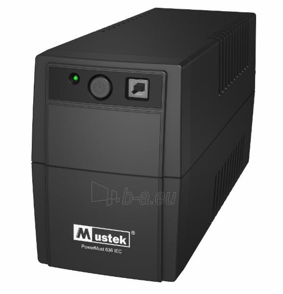 PowerMust 636 (650VA), Line Int., IEC Paveikslėlis 1 iš 1 250254301356