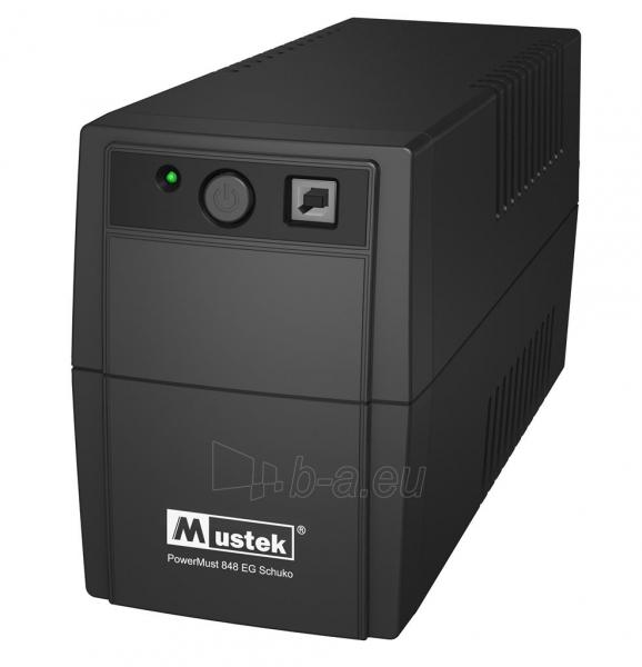 PowerMust 848 (850VA), Line Int., IEC Paveikslėlis 1 iš 1 250254301357