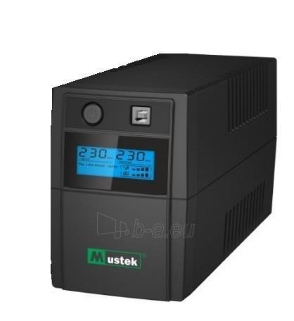 PowerMust 848 LCD (850VA), Line Int., Schuko Paveikslėlis 1 iš 1 250254301355
