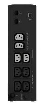 UPS Ever Eco 1000 LCD Paveikslėlis 2 iš 2 250254301045