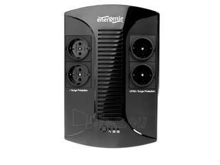 UPS Gembird Energenie Floor 650VA, AVR, LED, 4x schuko, 230V OUT Paveikslėlis 2 iš 2 250254301007