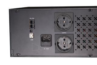 UPS Gembird Rack 1500VA, 1200WAT, RJ11, USB Paveikslėlis 4 iš 6 250254300850