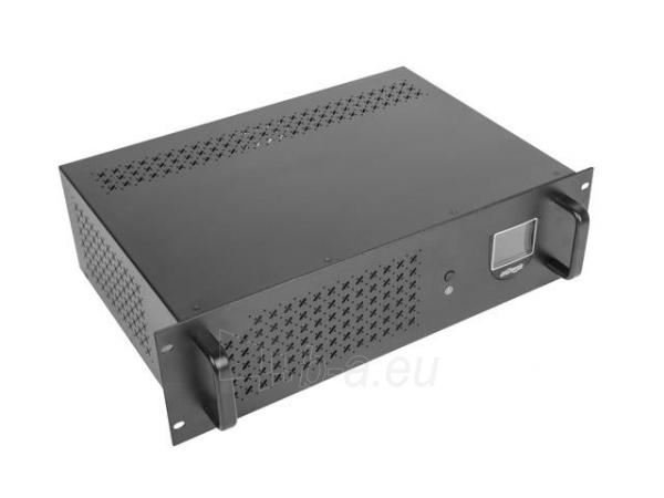 UPS Gembird Rack 1500VA, 1200WAT, RJ11, USB Paveikslėlis 5 iš 6 250254300850