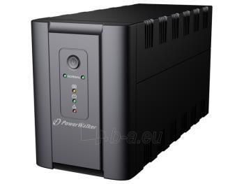UPS Power Walker Line-Interactive 1200VA 2x SCHUKO, 2x IEC C13, RJ11/RJ45, USB Paveikslėlis 1 iš 3 250254301013