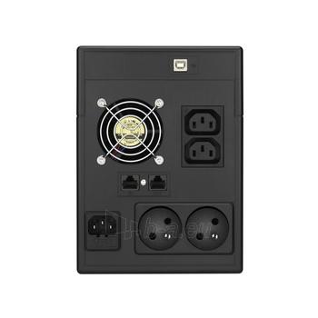 UPS Power Walker Line-Interactive 1500VA 2x 230V PL, 2x IEC, RJ11/RJ45, USB, LCD Paveikslėlis 3 iš 3 250254301014