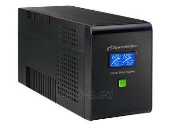 UPS Power Walker Line-Interactive 2000VA 6x IEC C13,PURE SINE, RJ11/RJ45,USB,LCD Paveikslėlis 4 iš 4 250254301020