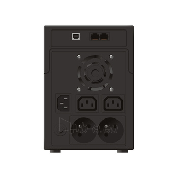 UPS Power Walker Line-Interactive 2200VA 2x 230V PL, 2x IEC C13, RJ11/RJ45, USB Paveikslėlis 2 iš 2 250254301022