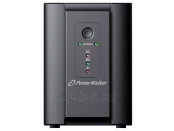 UPS Power Walker Line-Interactive 2200VA 2x SCHUKO, 2x IEC C13, RJ11/RJ45, USB Paveikslėlis 1 iš 3 250254300965