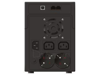 UPS Power Walker Line-Interactive 2200VA 2x SCHUKO, 2x IEC C13, RJ11/RJ45, USB Paveikslėlis 2 iš 3 250254300965