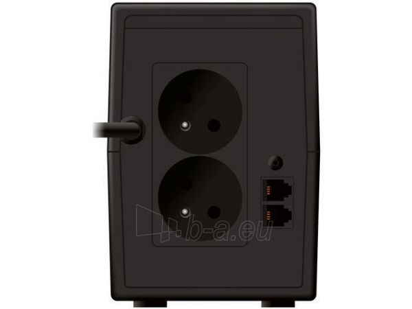 UPS Power Walker Line-Interactive 650VA 2x 230V PL OUT, RJ11 IN/OUT, USB, LCD Paveikslėlis 4 iš 4 250254300969