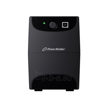 UPS Power Walker Line-Interactive 650VA 2x 230V PL OUT, RJ11 IN/OUT, USB Paveikslėlis 1 iš 3 250254300968