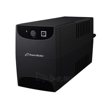 UPS Power Walker Line-Interactive 850VA 2x 230V PL OUT, RJ11 IN/OUT, USB Paveikslėlis 3 iš 3 250254300976