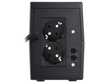 UPS Power Walker Line-Interactive 850VA 2x SCHUKO, RJ11 IN/OUT, USB Paveikslėlis 2 iš 3 250254300978