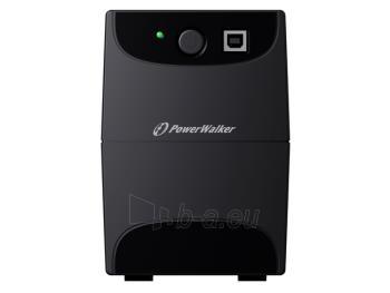 UPS Power Walker Line-Interactive 850VA 2x SCHUKO, RJ11 IN/OUT, USB Paveikslėlis 3 iš 3 250254300978