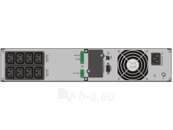 UPS Power Walker On-Line 1000VA, 19 2U, 8x IEC, RJ11/RJ45, USB/RS-232, LCD Paveikslėlis 2 iš 5 250254300982