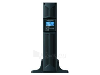 UPS Power Walker On-Line 1000VA, 19 2U, 8x IEC, RJ11/RJ45, USB/RS-232, LCD Paveikslėlis 4 iš 5 250254300982