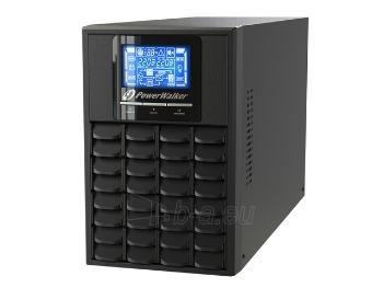 UPS Power Walker On-Line 1000VA, 4x IEC, RJ11/RJ45, USB/RS-232, LCD Paveikslėlis 1 iš 2 250254300983