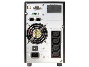 UPS Power Walker On-Line 1000VA, 4x IEC, RJ11/RJ45, USB/RS-232, LCD Paveikslėlis 2 iš 2 250254300983