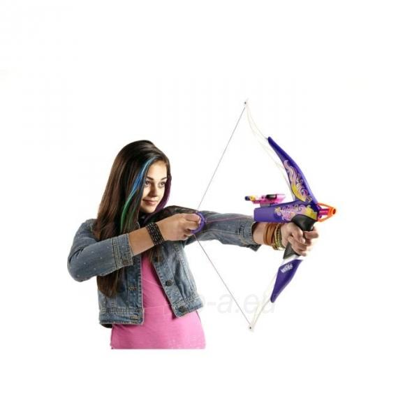 NERF A7324 / A6130 žaislinis lankas Heartbreaker Bow, сиреневый Paveikslėlis 4 iš 5 310820050591