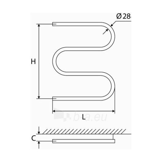 Nerūdijančio plieno gyvatukas Elonika EN 400/460/470 S/SD Paveikslėlis 1 iš 5 270651000423