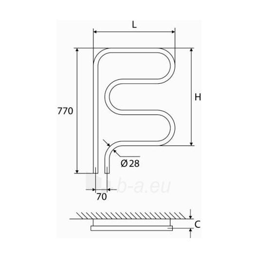 Nerūdijančio plieno gyvatukas Elonika EN 507 kairinis/dešininis Paveikslėlis 1 iš 5 270651000424