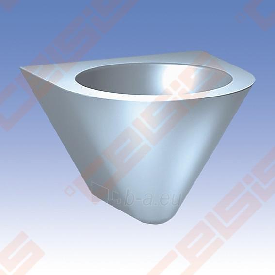 Nerūdijančio plieno plautuvė SANELA, antivandalinė Paveikslėlis 1 iš 2 270712000901