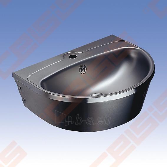 Nerūdijančio plieno plautuvė SANELA 56x43,5x18,5 Paveikslėlis 1 iš 2 271524000214