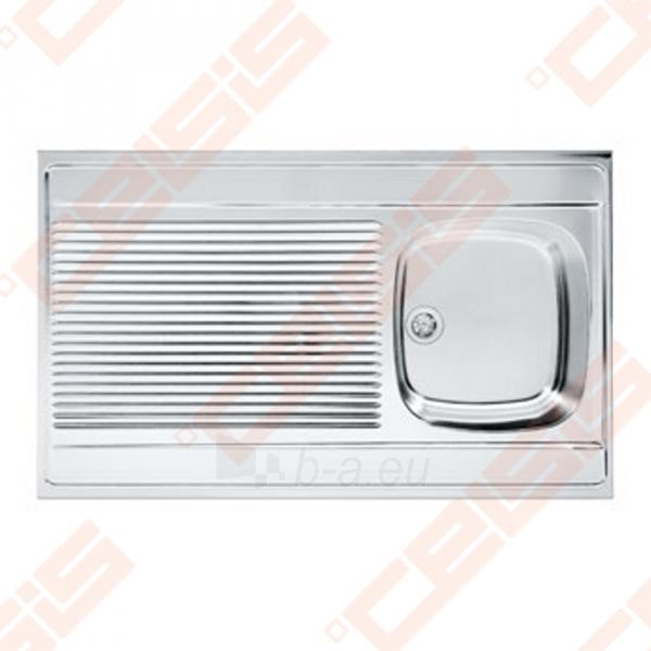 Nerūdijančio plieno universali plautuvė FRANKE uždedama DSN711 80x60 be ventilio (112-0008-398) Paveikslėlis 1 iš 2 271524000228